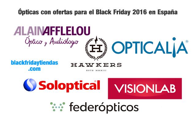 Ópticas con ofertas para el Black Friday 2016 en España
