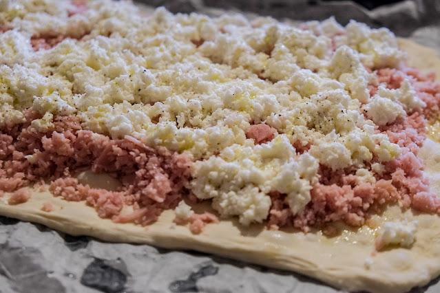Ricetta pizza al taglio parigina bianca