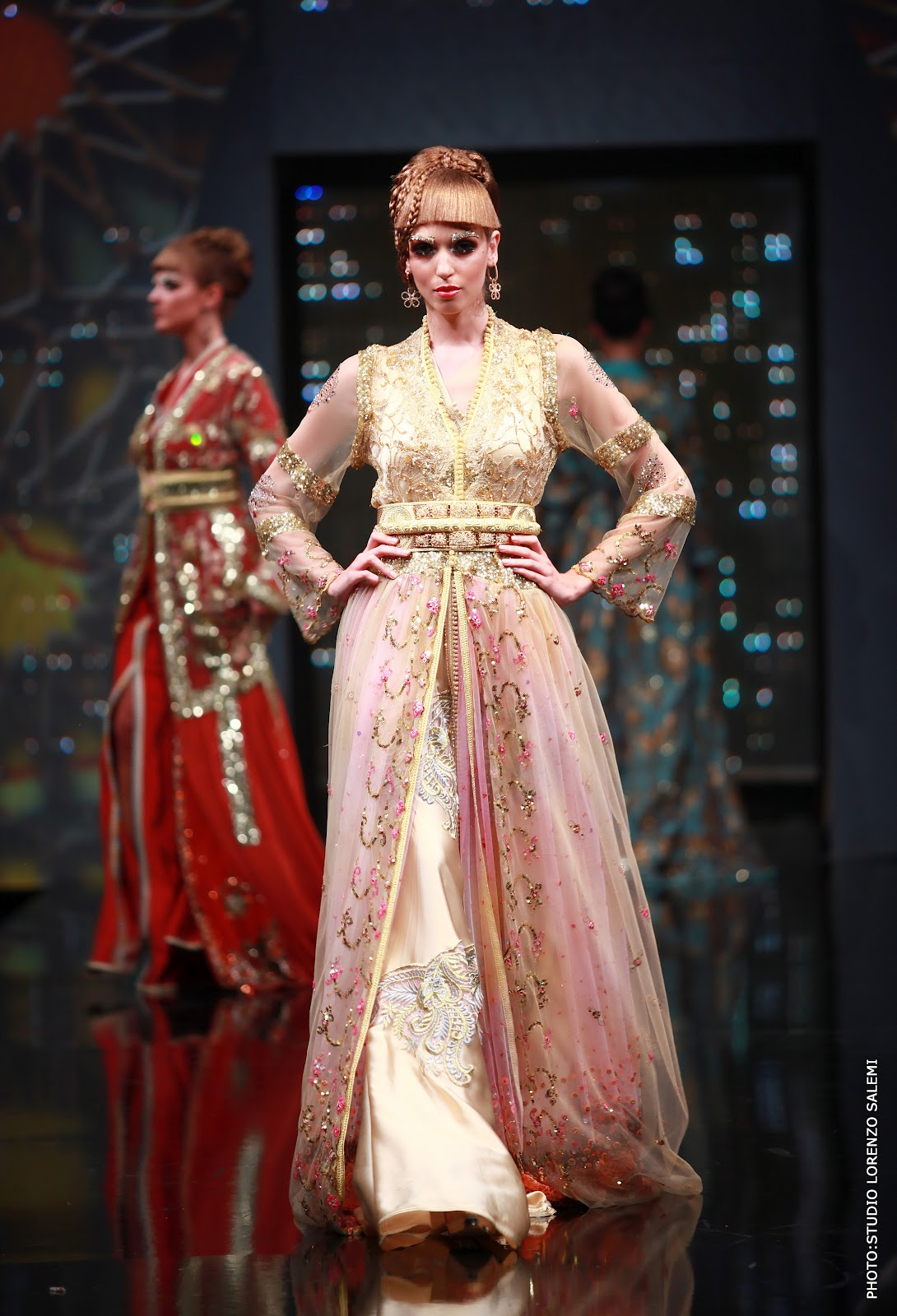 This was my favourite dress of the show - again 26bac9d43ee