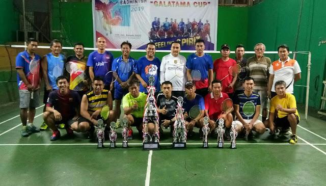 Besok Final Turnamen Batminton GALATAMA Cup