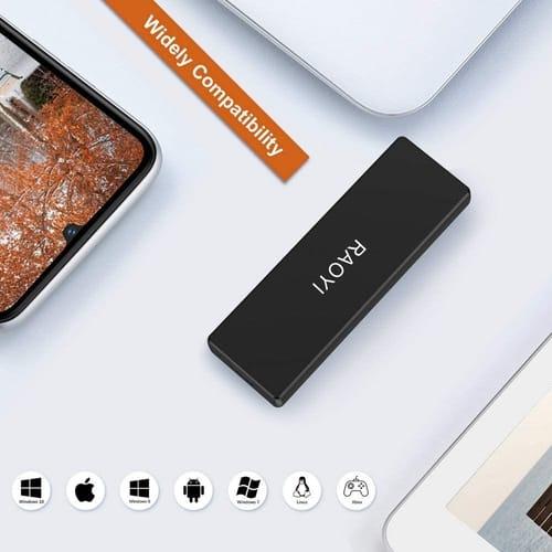 Review RAOYI 1TB Portable External SSD