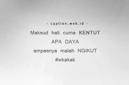 Caption Instagram Lucu Banget Super Kocak