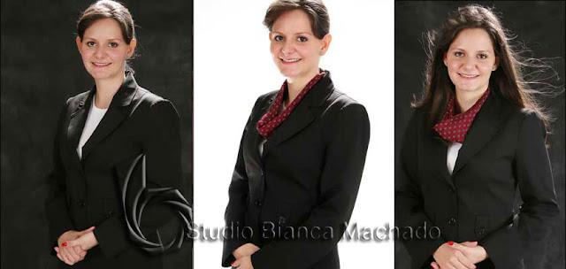 Fotos para curriculum em estudio