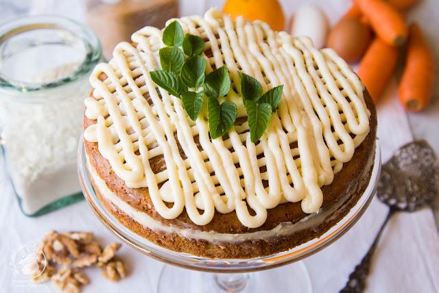 Mi tarta de zanahoria
