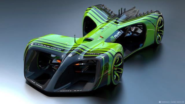 roborace self-driving races