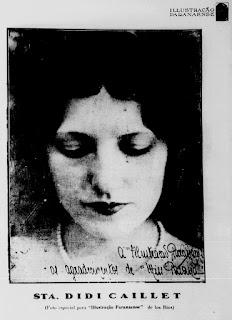 Didi Caillet na Illustração Paranaense edição de março de 1928