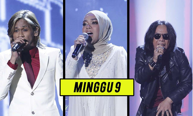 Live Streaming Gegar Vaganza 7 Minggu 9