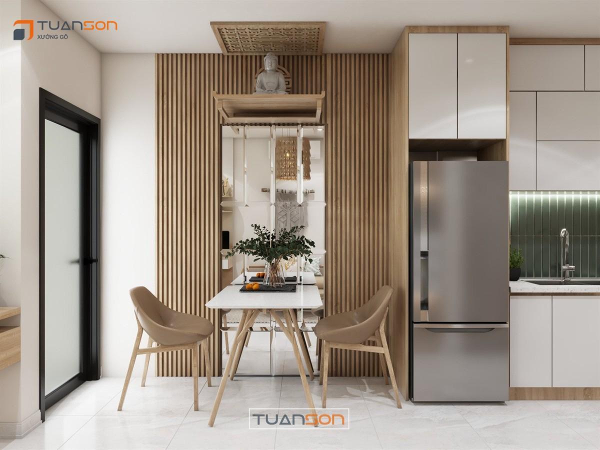 Thiết kế nội thất: Căn studio 28m2 Vinhomes Smart City Tây Mỗ