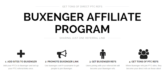Buxenger affiliate program