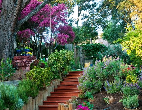 Inspiraci n mediterr nea guia de jardin for Los jardines de arbesu