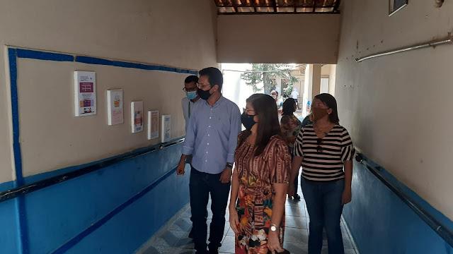 Secretaria de Educação de Alto do Rodrigues recebe visita do presidente da UNDIME/RN