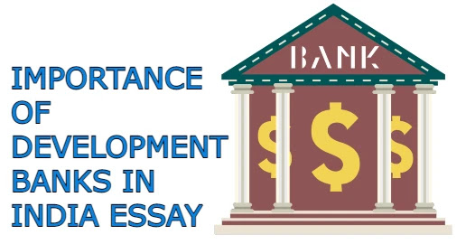 Importance of Development Banks in India essay