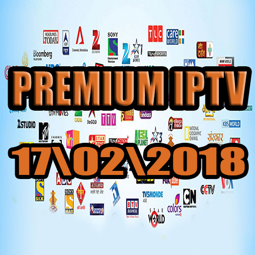 Free IPTV premium servers  17-02-2018
