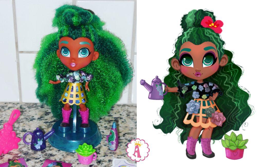 Новая кукла Хэрдораблс Сейдж ароматная