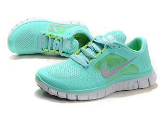 new style d6486 fbb82 Special Offer Nike Free Run 3 Tropical Twist Tiffany Blue Mint Green New  Green Sneaker