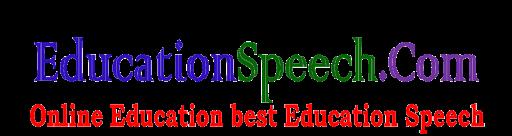 Online Education Best Education Speech