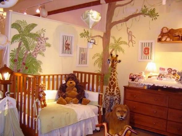 cuarto bebé jungla