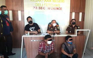 Diduga Memeras Kepsek di Pancurbatu, Kejari Deliserdang OTT Oknum Mantan Honor Kejatisu dan Ketua LSM