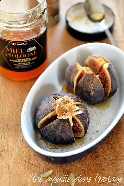 figue-miel-cardamome-cannelle-recette facile