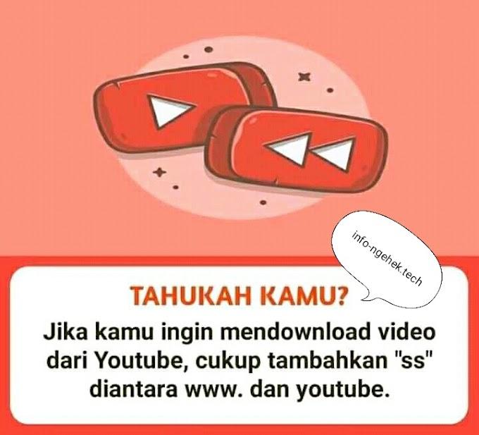 Mendownload Video Di Youtube Tanpa Aplikasi