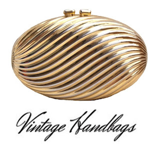 Gold Egg Clutch Bag - It's Vintage Darling