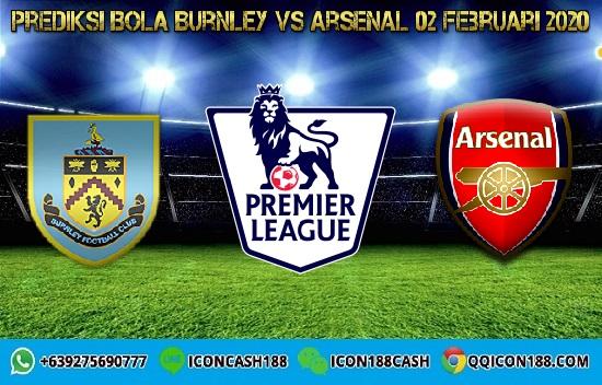 Prediksi Skor Burnley vs Arsenal 02 Februari 2020