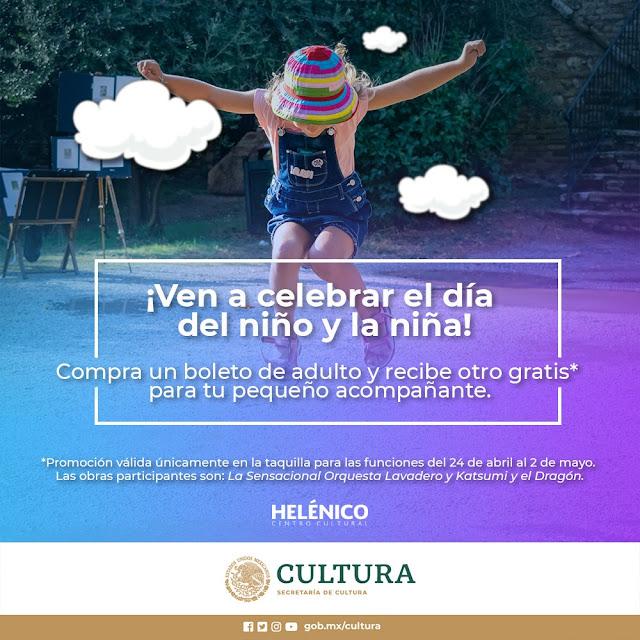 Celebra a los niños con actividades del Centro Cultural Helénico durante mayo