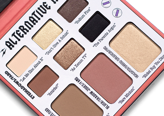 Palette Alternative Rock Volume 2 TheBalm Avis Revue