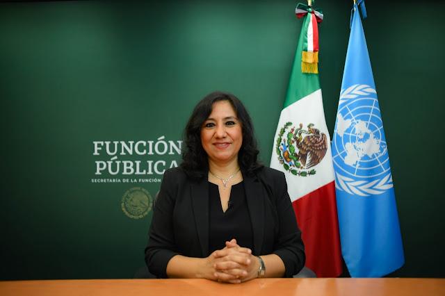 Ante la ONU, Sandoval Ballesteros expone que la transformación política sólo es posible erradicando la corrupción