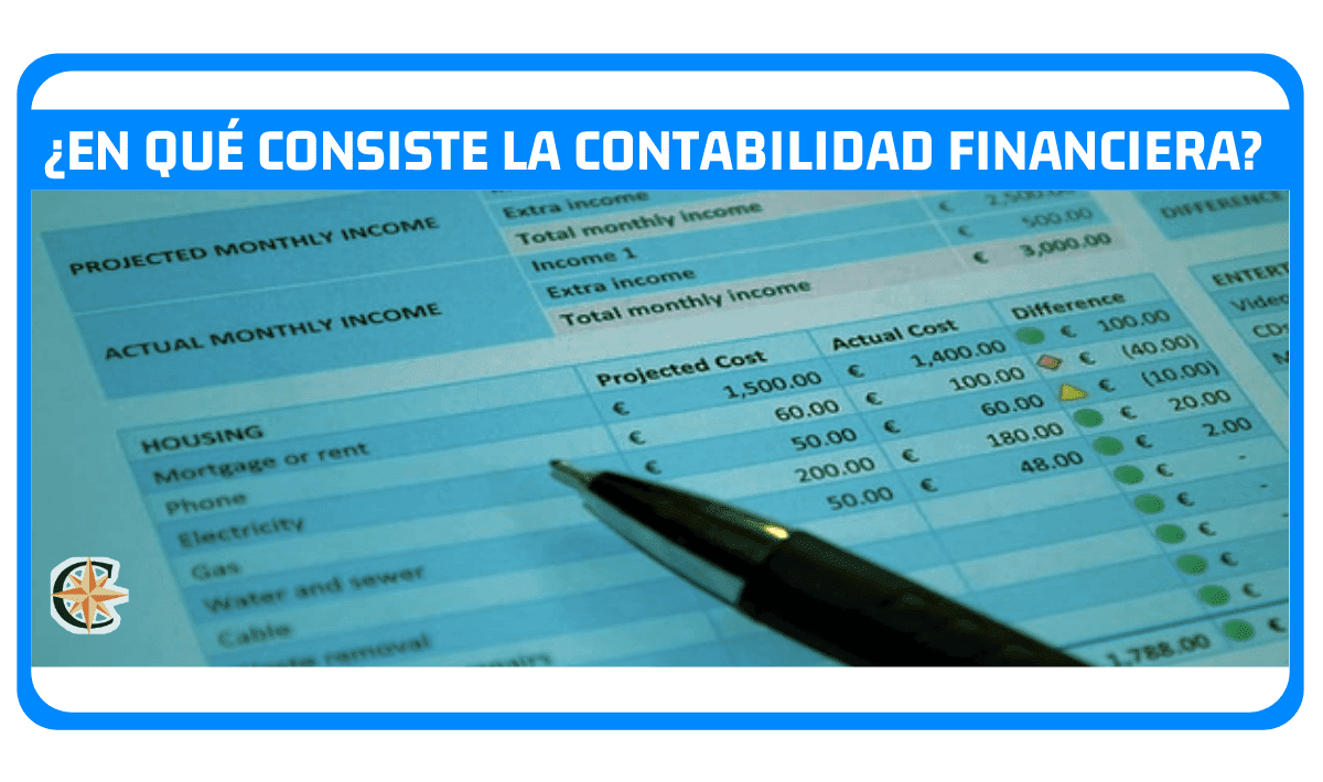 en que consiste la contabilidad financiera