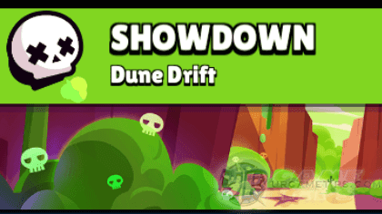 Brawl Stars: Best Brawlers to Play for Showdown Dune Drift Map