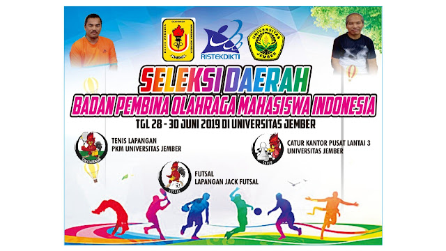 Selekda Tenis BAPOMI Jawa Timur Siap Digelar di Universitas Jember