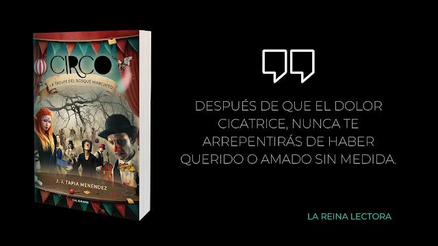 reseña libro fantasía Circo la troupe del bosque marchito
