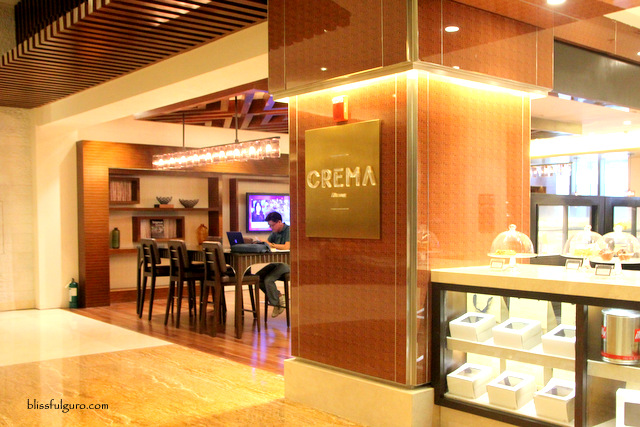 Crema Cafe Marriott Manila Blog