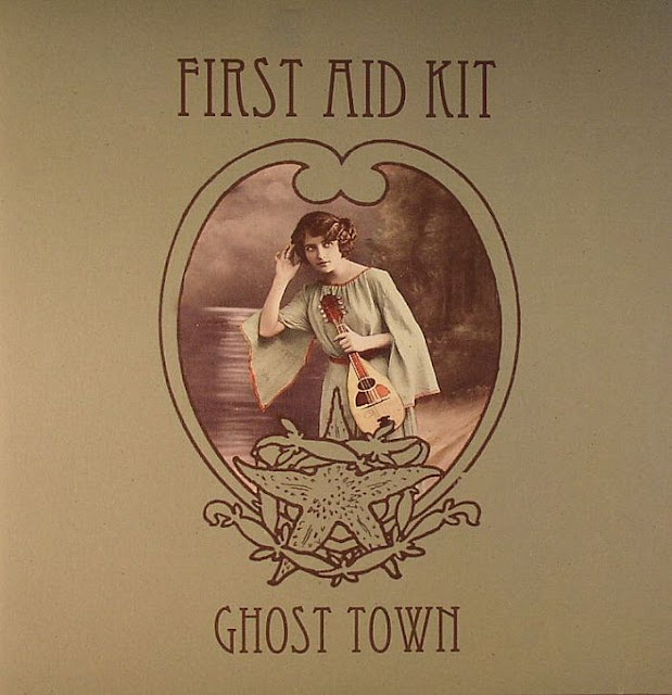 Music Television music video by First Aid Kit for their song titled Ghost Town, from their LP titled The Big Black & The Blue.