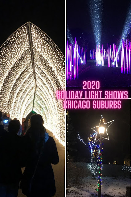 2020 Holiday Light Shows in the Chicago Suburbs Including Large Scale and Awesome Home Displays