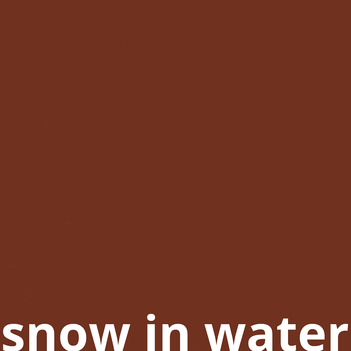Snow in Water Records