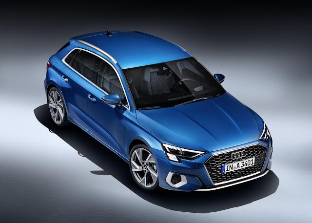 The all-new Audi A3 Sportback car