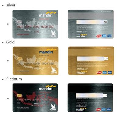 Kartu ATM Mandiri Chip GPN