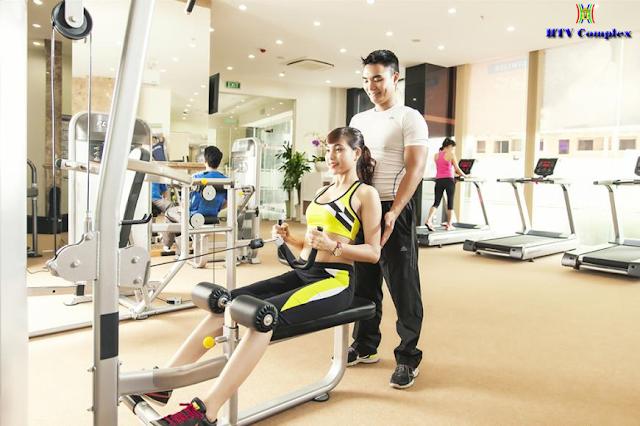 Phòng tập Gym chung cư HTV