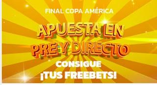 Mondobets promo Final Copa America 2021