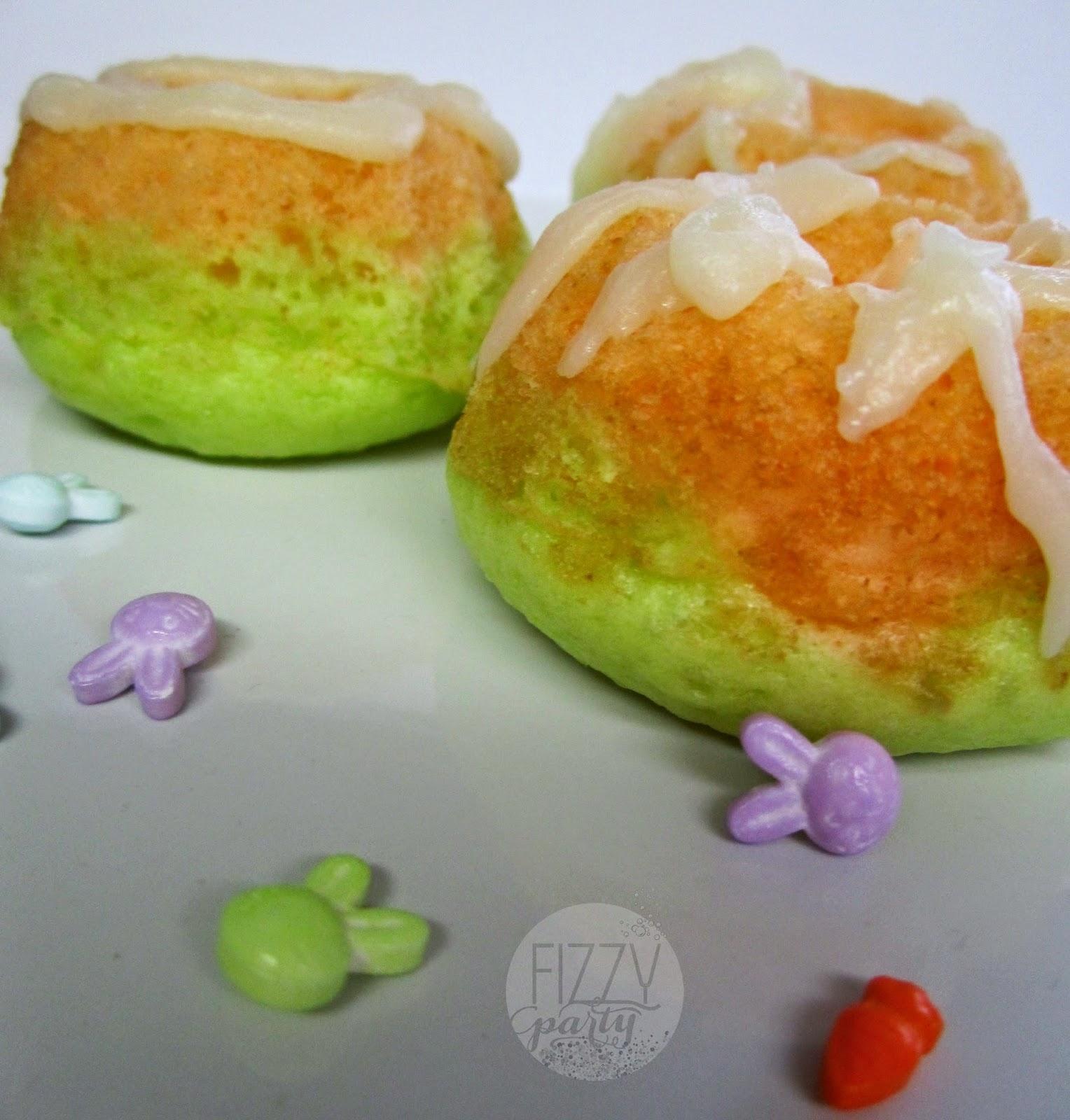 Spring mini bundt cakes by Fizzy Party