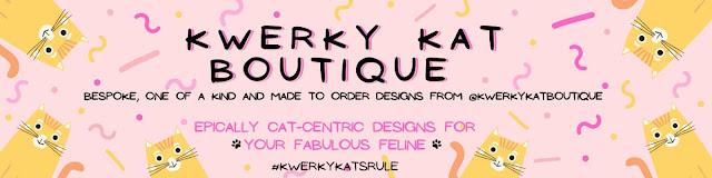 Kwerky Kat Boutique Etsy Shop Header