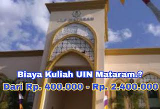 Ternyata Biaya Kuliah di UIN Mataram Murah.