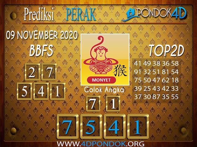 Prediksi Togel PERAK PONDOK4D 09 NOVEMBER 2020