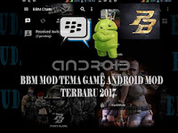 Baru Kumpulan BBM MOD Tema Game Android Full Fitures