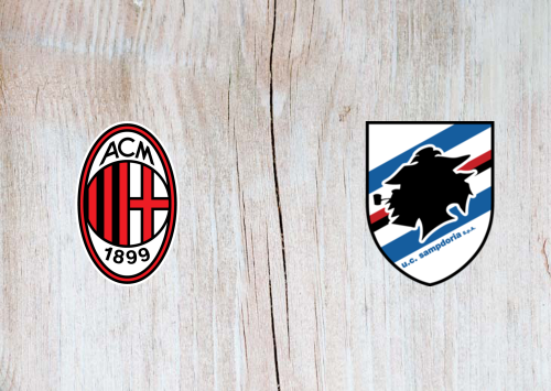 Milan vs Sampdoria -Highlights 6 January 2020