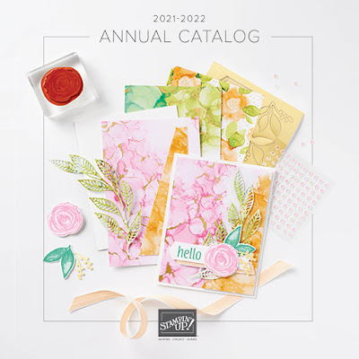 Where to download the Stampin' Up! 2021-2022 Annual Catalog