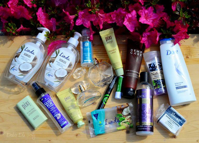 Kosmetyczne zużycia - denko maj