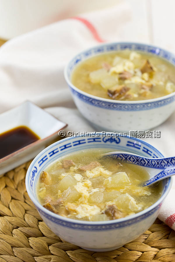 冬瓜粒湯 Winter Melon Soup03